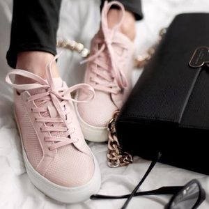 Greats leather blush pink Royale sneakers 36
